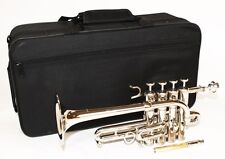 Cherrystone Piccolo Trumpet silver with case and accessories