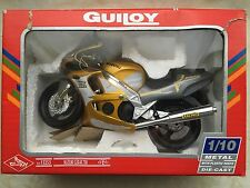 Motor Bike Suzuki GSX-R 750 Diecast Metal Model with Plastic Parts scale 1:10 by
