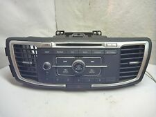 13 14 15 Honda Accord Radio Cd Player & Theft Code 39100-T2A-A321 DC0101