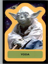 2015 Star Wars Journey to The Force Awakens Character Stickers #S18 Yoda