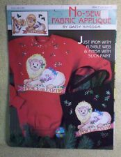 """New listing New No Sew Fabric Applique By Daisy Kingdom """"Peace On Earth"""" Christmas Theme"""