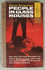 People in Glass Houses (Believe It or Not! Mystery) by Jason Ridgway PB Perma