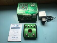 Zoom A2 Acoustic Effects Guitar Pedal BOXED with Original Power Supply & Manual