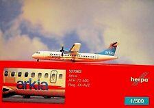 Herpa Wings 1:500 ATR-72-500 Arkia 4X-AVZ 527262 modellairport500
