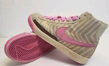 Vintage Nike Blazer High Opal Pink Tan Women's Shoes Sz 6.5 317808-961 2009