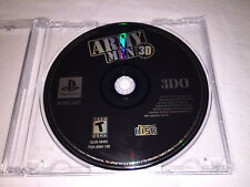 Army Men 3D (Sony PlayStation 1, 1999)  PS1 Game in Plain Case Excellent~