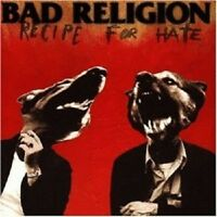 BAD RELIGION 'RECEIPE FOR HATE' CD NEW+ PUNK!!!!