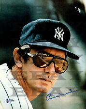 Billy Martin New York Yankees. Signed 8x10 autographed photo Reprint