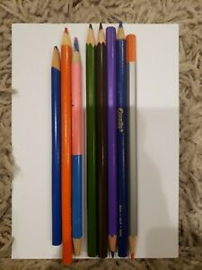 Assorted Colored Pencils Lot of 8