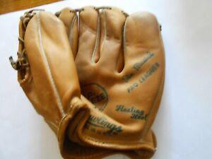 1960's Stan Musial Rawlings USA Trap-Eze TG98 baseball glove vgc