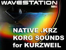 Korg .KRZ sounds cd for Kurzweil k2500 k2600 k2661 pc3 k6 6 k7 k8 pc3k8 pc3k7