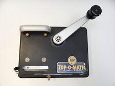 Top-O-Matic Cigarette Machine Tobacco Roller