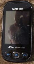 Samsung Seek SPH-M350 - Black (Boost Mobile) Cellular Phone Excellent Used