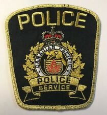 Canadian Pacific Railroad Police Service Canada Cloth Patch