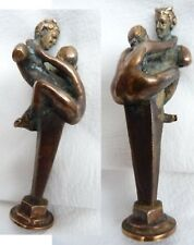 PIPE TAMP TAMPER STOPPER BRASS (girl and devil Satan) Seals