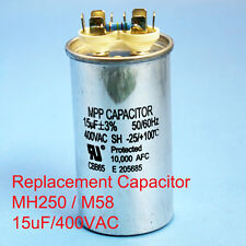 250W Oil filled Capacitor HID MH250 M58 15uF/400VAC ~~UL APPROVED~~