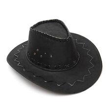 Vintage Retro Felt Wide Brim Fedora Hat Elegant Manly Women Cowboy Cattleman