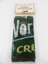 Vintage New Bass Museum Bar Towel - Worthington Draught Bitter England