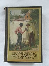 The Adventures of Tom Sawyer Book by Mark Twain c. 1910