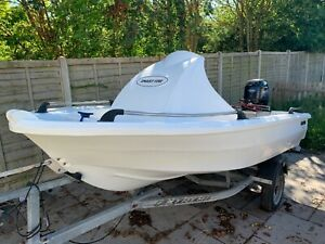 Smartwave 3500 boat 25hp four stroke Tohatsu outboard and trailer