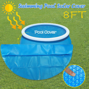 Swimming Round Pool Cover Protector Foot Above NEW