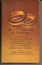 Sexual Freedom In Marriage ~ Signet Q3995 1969 1St Isadore Rubin Phd