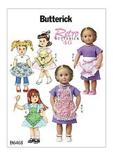 SEWING PATTERN! MAKE VINTAGE STYLE 40'S APRONS~FIT AMERICAN GIRL MOLLY~KIT~GRACE