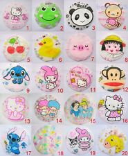 1pc Cartoon Resuable Elastic Shower Cap Bath Hat Water-proof Kid Adult
