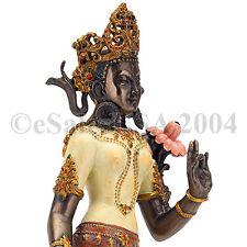 Tara Lotus Wisdom Statue Vajrayana Bodhisattva Tarani Bosatsu Ramayana Tantric