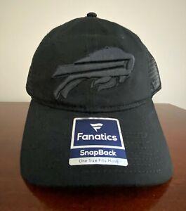 Buffalo Bills Fanatics UNISEX Adult Adjustable SnapBack Cap NEW