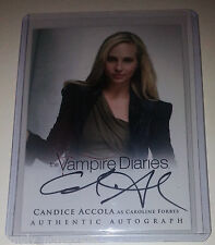 Vampire Diaries 2 Autograph/Auto Card A6 Candice Accola As Caroline Forbes