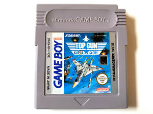 Top Gun Guts & Glory - Nintendo GameBoy Classic #128