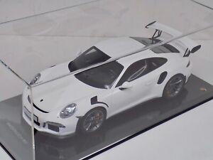 """1/12 GT Spirit Porsche 911 GT3 RS """"991 """"  GT140 on Carbon Fiber base"""