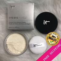 IT Cosmetics Bye Bye Pores Pressed Translucent Anti Aging Finishing Powder