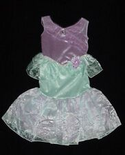 EUC Disney Store Girls PRINCESS ARIEL Little Mermaid Dress Up Costume Size 4