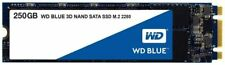 WD Blue 3D NAND 250GB Internal PC SSD - SATA III 6 Gb/s, M.2 2280, Up to 550 MB