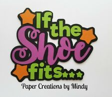 Craftecafe Mindy Halloween Costume Diecut premade paper piecing Title scrapbook