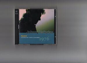 johnny hallyday cd la guitare n°17 hamlet