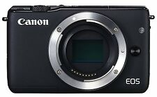 Canon EOS M10 body ONLY black  mirrorless digital camera with battery