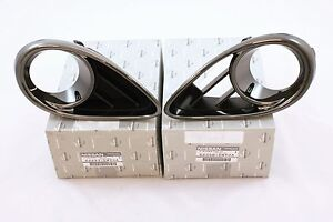 Front Smoke Bezels fog lamp pair for Infiniti Fx 30d 35 37 50 QX 70  New S 51