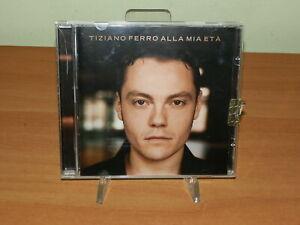 TIZIANO FERRO - ALLA MIA ETA' CD MUSICA USATO SICURO