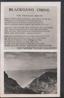 Isle of Wight Postcard - Blackgang Chine - The Fragrant Minute    RS7815