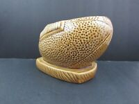 Mid Century Giftwares Co Nancy Pew Japan Football Ceramic Planter