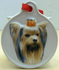 Yorkshire Terrier Dog Ornament From Xpres Giftware