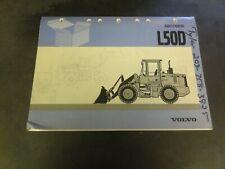 Volvo L50D Wheel Loader Parts Catalog Manual