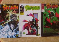 Spawn, nº 17, 18 y 19, Tom Orzechowski, World Comics, Planeta DeAgostini, 1995