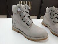 TIMBERLAND A1PJX Premium Boot Damen Stiefel Leder Nubuk Grau Gr.37(UK4) Neuw
