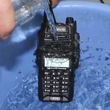 Hot Retevis RT6 Walkie Talkie IP67Waterproof VHF+UHF Cross Band FM 2Way Radio US