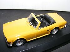 Triumph TR 6 in Bronze 1968 with black interior  a Maxichamp New issue 1:43RD. .