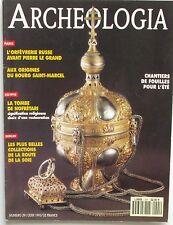 Archéologia n°291 - 1993 - L'Orfèvrerie Russe - Bourg Saint Marcel - Nofrétari